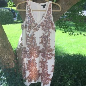 J Crew sequin summer dress NWT